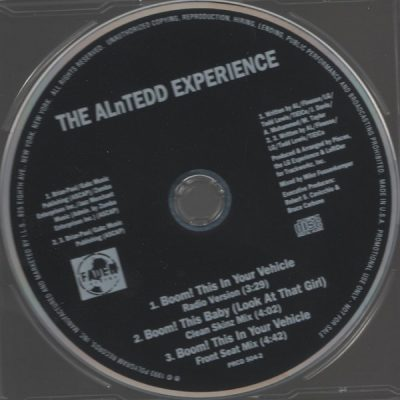 The ALnTedd Experience – Boom! This In Your Vehicle (Promo CDS) (1993) (320 kbps)