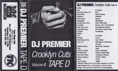 DJ Premier – Crooklyn Cuts Volume III: Tape D (Cassette) (1996) (FLAC + 320 kbps)