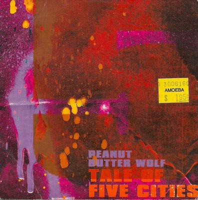 Peanut Butter Wolf – Tale Of Five Cities (UK CDM) (1999) (FLAC + 320 kbps)