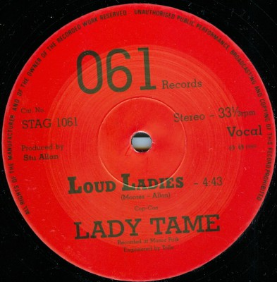 lady tame loud ladies a