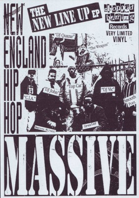New England Hip Hop Massive - The New Line Up EP