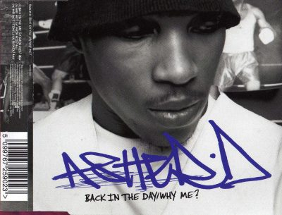Asher D – Back In The Day / Why Me? (2002) (CDS) (FLAC + 320 kbps)