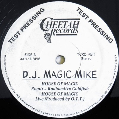 DJ Magic Mike – House Of Magic (VLS) (1990) (FLAC + 320 kbps)