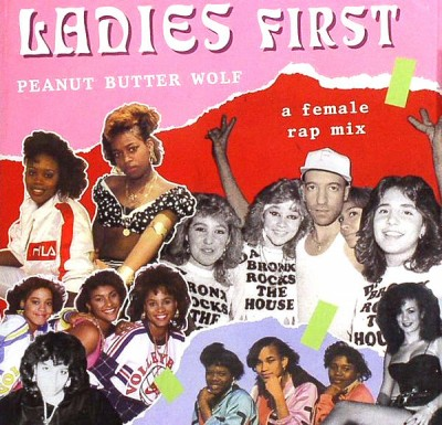 Peanut Butter Wolf ‎- Ladies First: A Female Rap Mix (CD) (2009) (FLAC + 320 kbps)