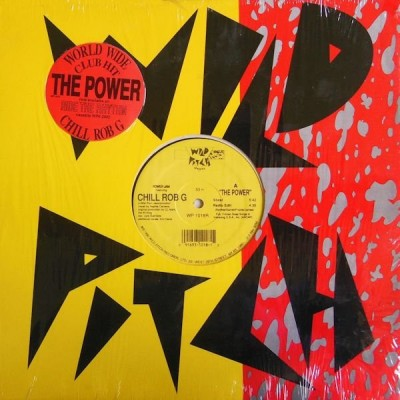 Power Jam Featuring Chill Rob G - The Power (WP 1018R) - Cover