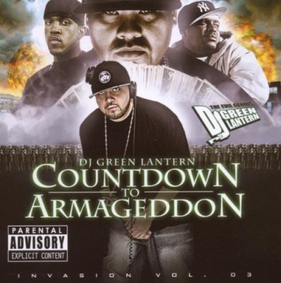 DJ Green Lantern - Countdown CD