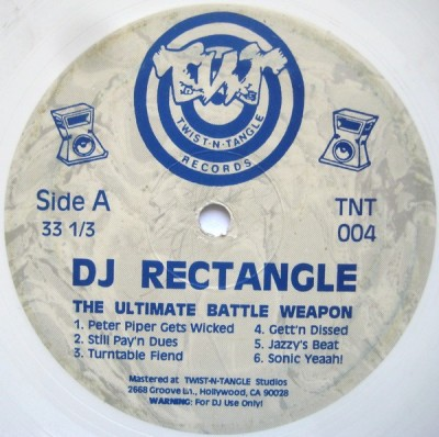 DJ Rectangle - The Ultimate Battle Weapon
