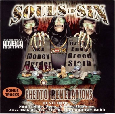 Souls Of Sin – Ghetto Revelations (CD) (1998) (FLAC + 320 kbps)