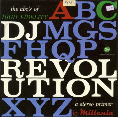 DJ Revolution – The ABC's Of High Fidelity (CD) (2005) (FLAC + 320 kbps)