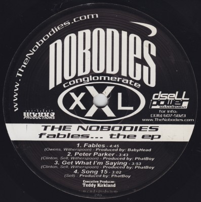 The Nobodies – Fables… The EP (Vinyl) (1998) (FLAC + 320 kbps)