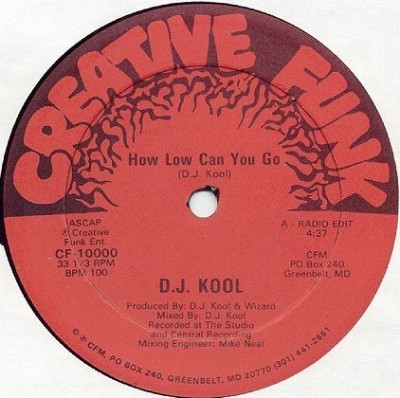 D.J. Kool - 1988 - How Low Can You Go