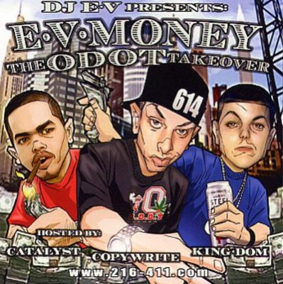 DJ E-V - E-V Money- The O-DOT Takeover