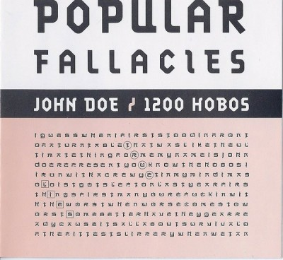 John Doe / 1200 Hobos – Popular Fallacies (CD) (2003) (FLAC + 320 kbps)