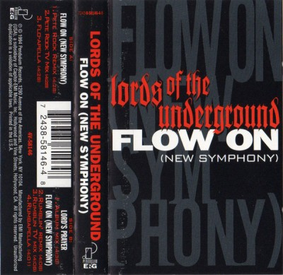 Lords Of The Underground – Flow On (New Symphony) (Cassette Single) (1994) (FLAC + 320 kbps)