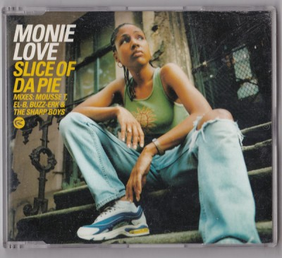 Monie Love - Slice of da Pie (CDS)