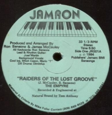 The Empyre - Raiders Of The Lost Groove