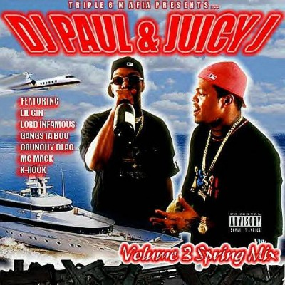 DJ Paul & Juicy J – Volume 3 Spring Mix '95 (CD) (1995) (320 kbps)