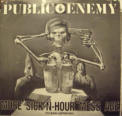 Public Enemy – Muse Sick-N-Hour Mess Age (Instrumentals) (Vinyl) (1994) (FLAC + 320 kps)
