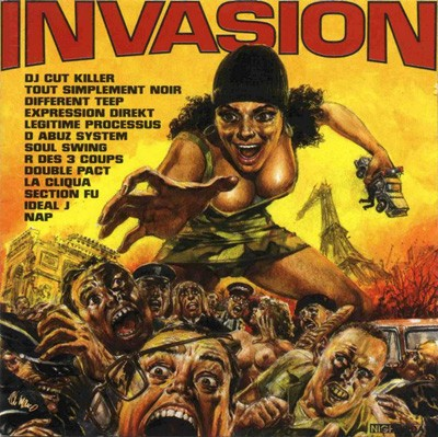 VARIOUS ARTISTS - Invasion
