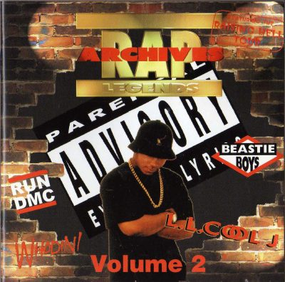 Various – Rap Archives Legends Vol.2 (1996) (CD) (FLAC + 320 kbps)