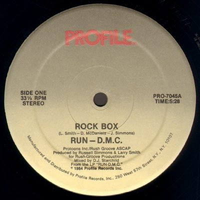 Run-D.M.C. – Rock Box (1984) (VLS) (FLAC + 320 kbps)