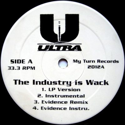Ultra – The Industry Is Wack (VLS) (1996) (FLAC + 320 kbps)