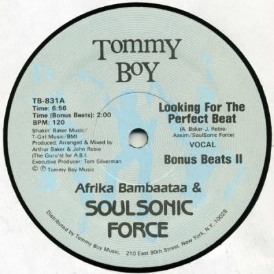 Afrika Bambaataa & Soulsonic Force – Looking For The Perfect Beat (VLS) (1983) (FLAC + 320 kbps)