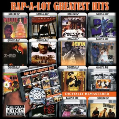 VA – Rap-A-Lot Records: Greatest Hits (CD) (2008) (FLAC + 320 kbps)