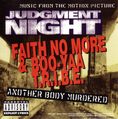Faith No More & Boo Yaa Tribe – Another Body Murdered (Promo CDS) (1993) (FLAC + 320 kbps)