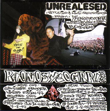 PhonopsychographDISK & Buckethead – Unrealesed (Cassette) (1999) (FLAC + 320 kbps)