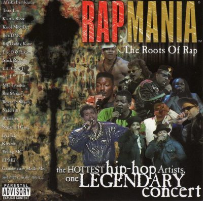 VA – Rapmania: The Roots Of Rap (2xCD) (1999) (FLAC + 320 kbps)
