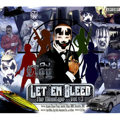 DJ Clay – Let 'Em Bleed: The Mixxtape Vol. 3 (CD) (2008) (FLAC + 320 kbps)