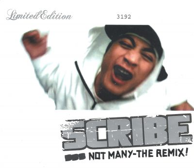 Scribe – Not Many: The Remix! (CDS) (2003) (FLAC + 320 kbps)