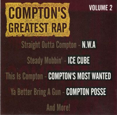 VA – Compton's Greatest Rap Volume 2 (CD) (1993) (FLAC + 320 kbps)