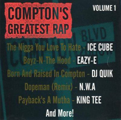 VA – Compton's Greatest Rap Volume 1 (CD) (1993) (FLAC + 320 kbps)