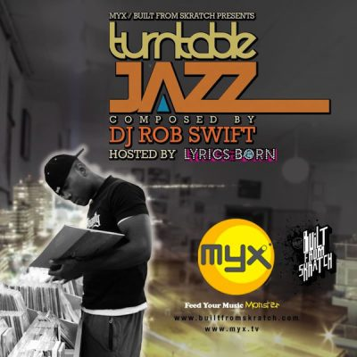 DJ Rob Swift – Turntable Jazz (CD) (2008) (FLAC + 320 kbps)