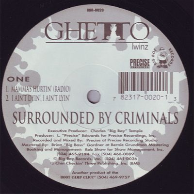 Ghetto Twinz – Surrounded By Criminals (VLS) (1995) (320 kbps)