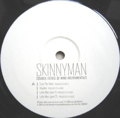 Skinnyman – Council Estate Of Mind Instrumentals (Vinyl) (2004) (FLAC + 320 kbps)