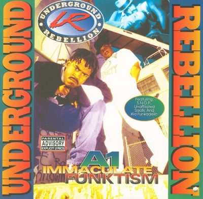 Underground Rebellion – A1 Immaculate Funktism (CD) (1995) (FLAC + 320 kbps)