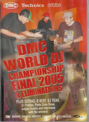 Various – DMC World DJ Championship Final 2005 & Eliminations (2005) (DVD)