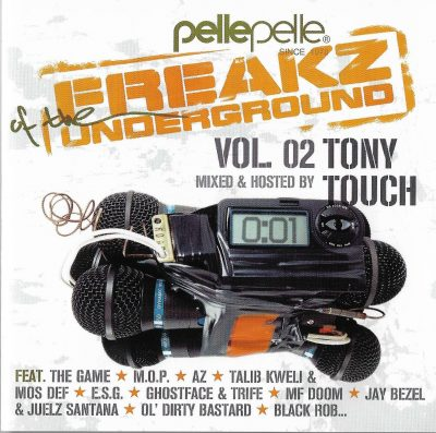Tony Touch – Freakz Of The Underground Vol. 02 (2006) (CD) (FLAC + 320 kbps)