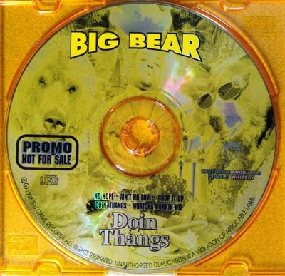 Big Bear – Doin Thangs (Promo CD) (1998) (FLAC + 320 kbps)