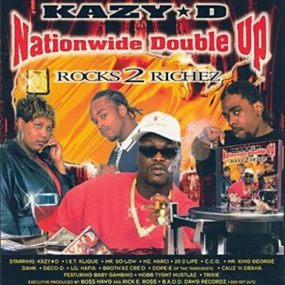 Kazy D – Nationwide Double Up (CD) (1998) (FLAC + 320 kbps)