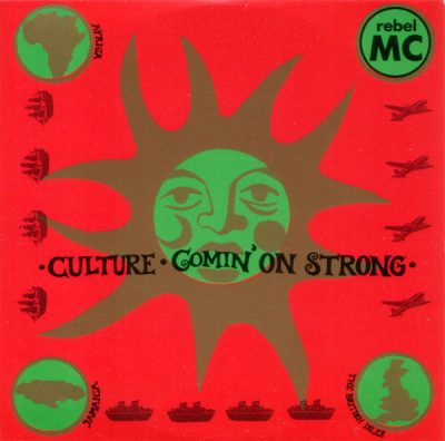 Rebel MC – Culture / Comin' On Strong (CDS) (1990) (FLAC + 320 kbps)