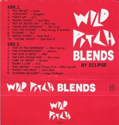 Various – Wild Pitch Blends (1994) (Cassette) (FLAC + 320 kbps)