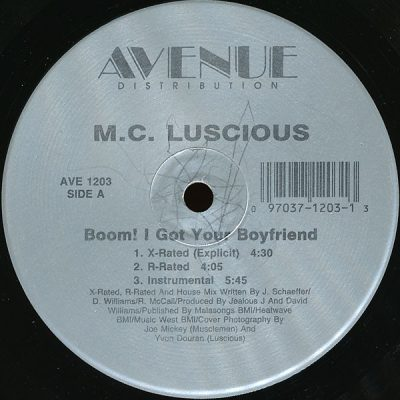 M.C. Luscious – Boom! I Got Your Boyfriend (1989) (VLS) (FLAC + 320 kbps)