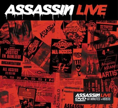 Assassin – Live (CD) (2001) (FLAC + 320 kbps)