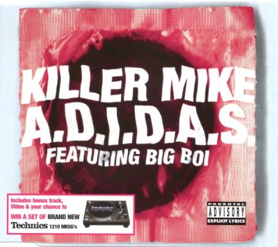 Killer Mike – A.D.I.D.A.S. (CDS) (2003) (FLAC + 320 kbps)