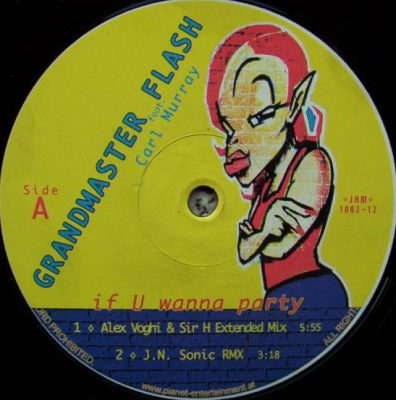 Grandmaster Flash – If U Wanna Party (1996) (VLS) (FLAC + 320 kbps)