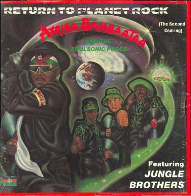 Afrika Bambaataa Featuring Jungle Brothers – Return To Planet Rock (The Second Coming) (1989) (VLS) (FLAC + 320 kbps)